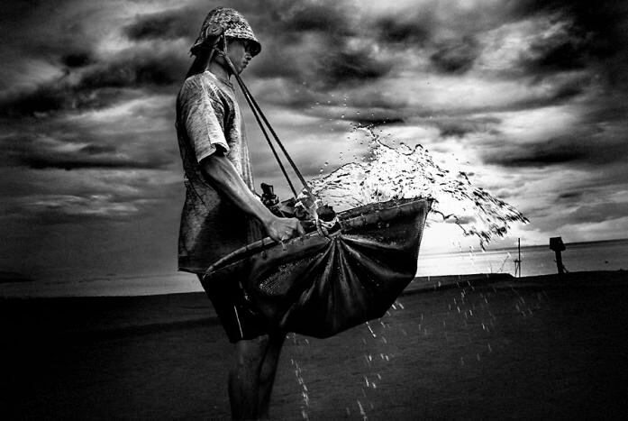 kusambe salt mining bali
